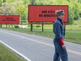 Три билборда на границе Эббинга, Миссури...
