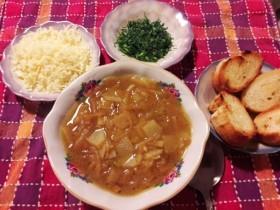 Французский луковый суп. О'Ля-Ля.