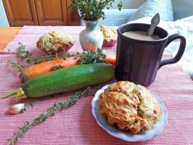 Как приготовить вкусные и полезные морковные маффины с цукини и зеленью и морковью