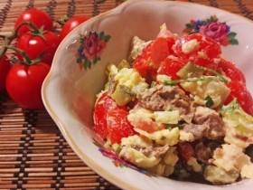 Вкусный салат с говядиной