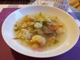 Суп из цветной капусты с приварком